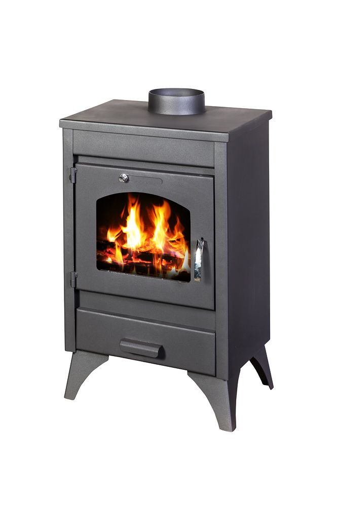 Capri wood burning stoves and cookers designed to